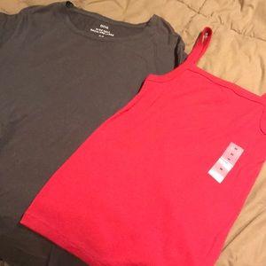 Set of 2 shirts size M NWT